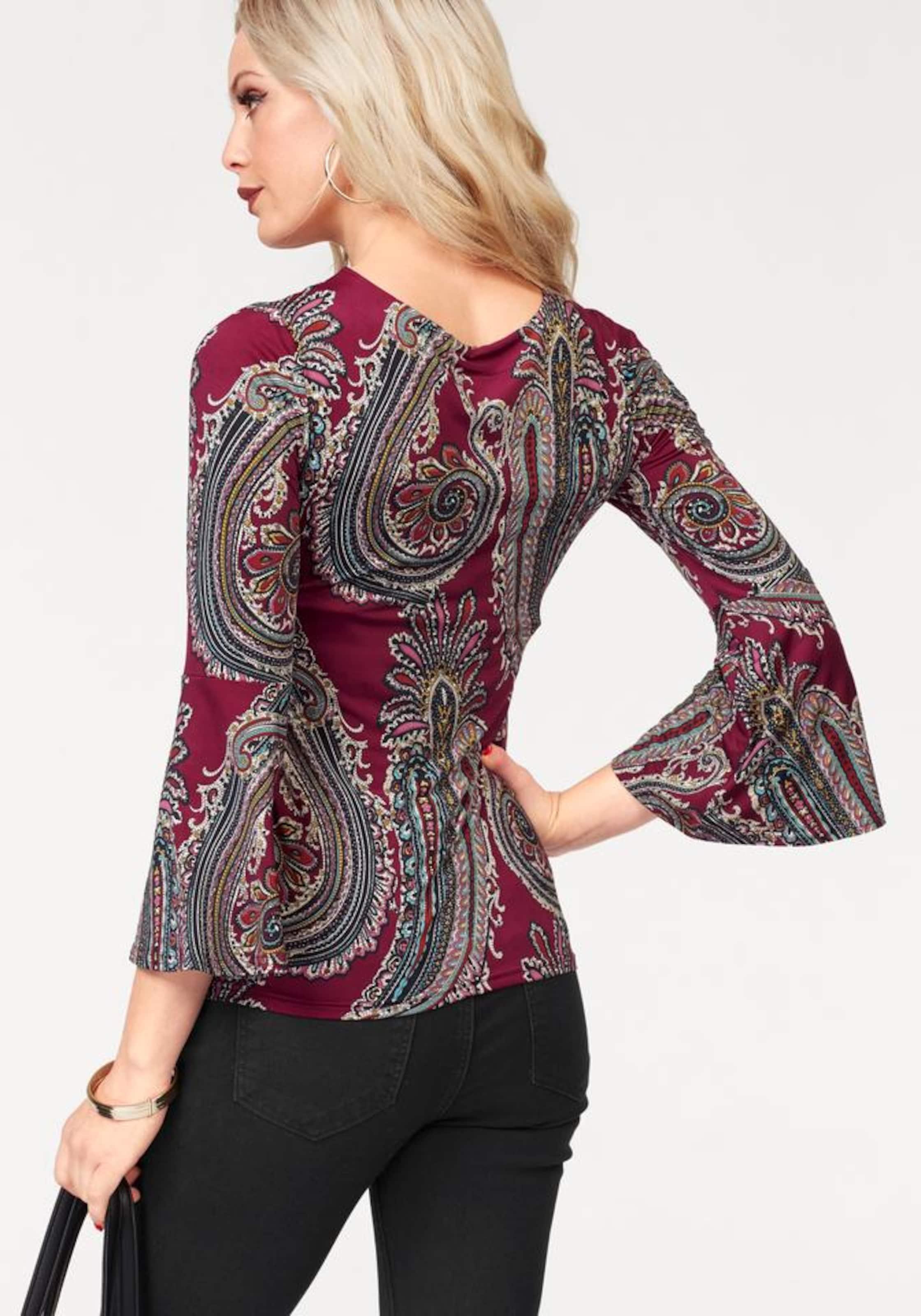 MELROSE Shirt Paisley Großhandelspreis Exklusiv Billig Verkauf Ausgezeichnet RwIOmaAi
