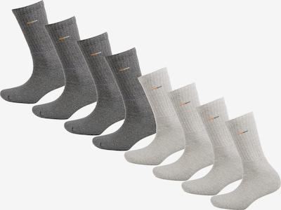 camano Sportsocken in graumeliert / naturweiß, Produktansicht