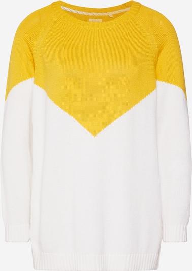 Megztinis 'SARA' iš ONLY , spalva - geltona / balta, Prekių apžvalga