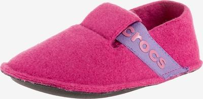 Crocs Hausschuhe in neonlila / pink / neonpink, Produktansicht