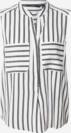 VERO MODA Blusenshirt 'VMERIKA' in schwarz / weiß, Produktansicht