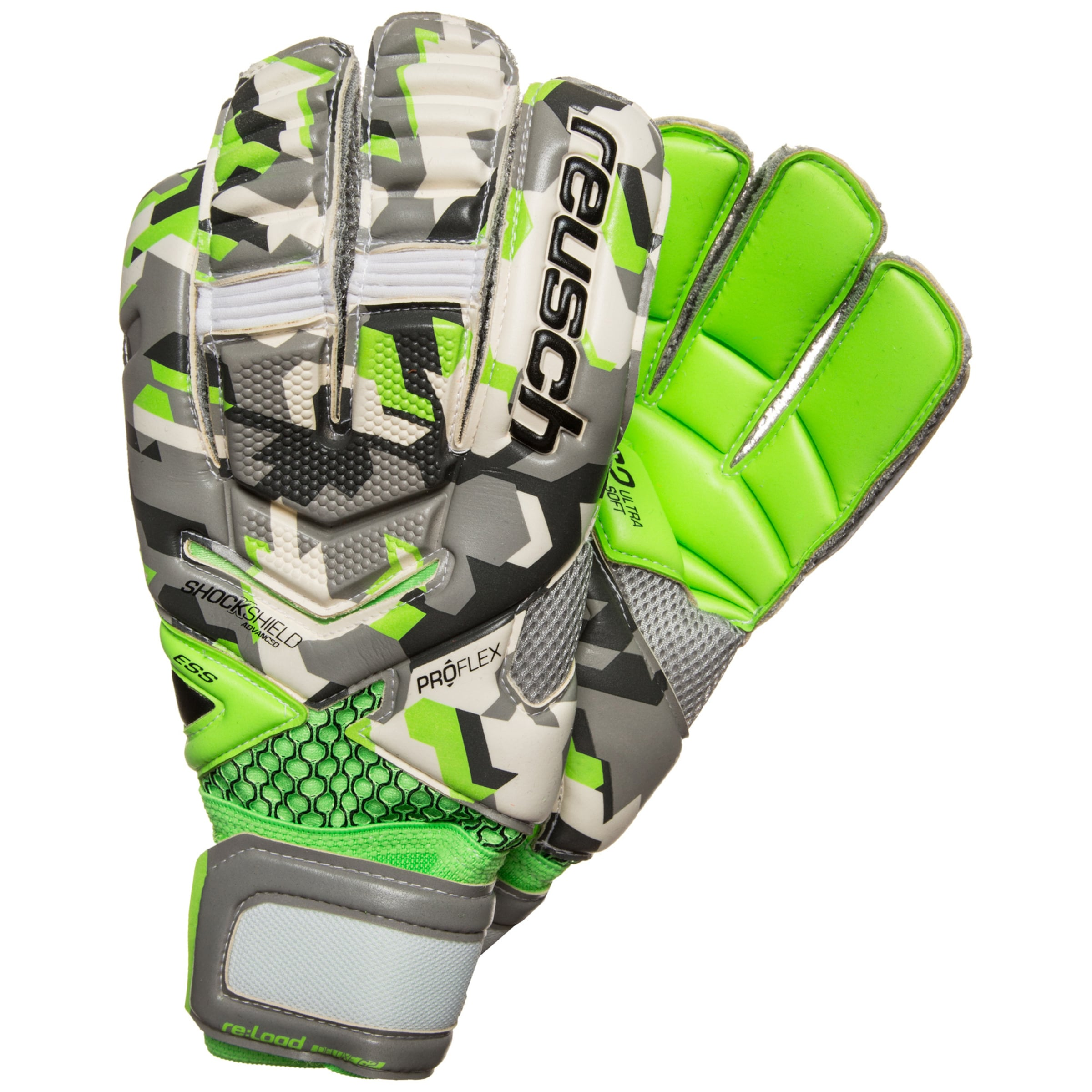 Reusch load In 're G2' GrauNeongrün Deluxe Torwarthandschuh wm0nNv8