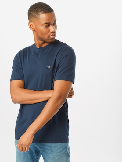 Dockers T-Shirt 'PACIFIC CREW' in dunkelblau: Frontalansicht