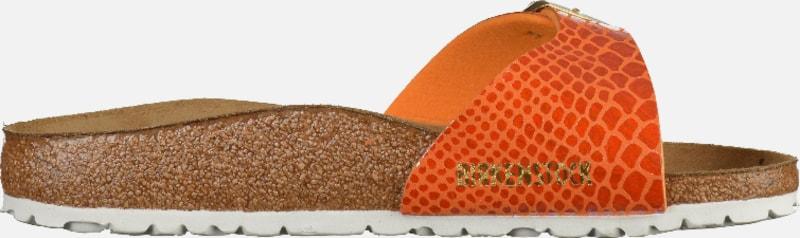 BIRKENSTOCK Sandale Madrid Shiny Snake Hohe Qualität