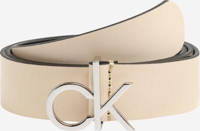 Calvin Klein Gürtel 'RE-LOCK LOW 3CM FIXED' in sand, Produktansicht