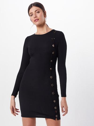Megzta suknelė iš IVYREVEL , spalva - juoda, Modelio vaizdas