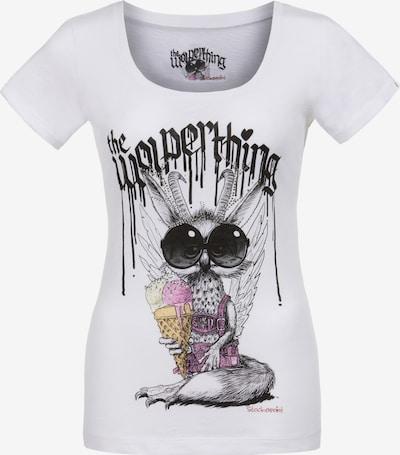 STOCKERPOINT Shirt 'Wolpigirl' in de kleur Zwart / Wit, Productweergave