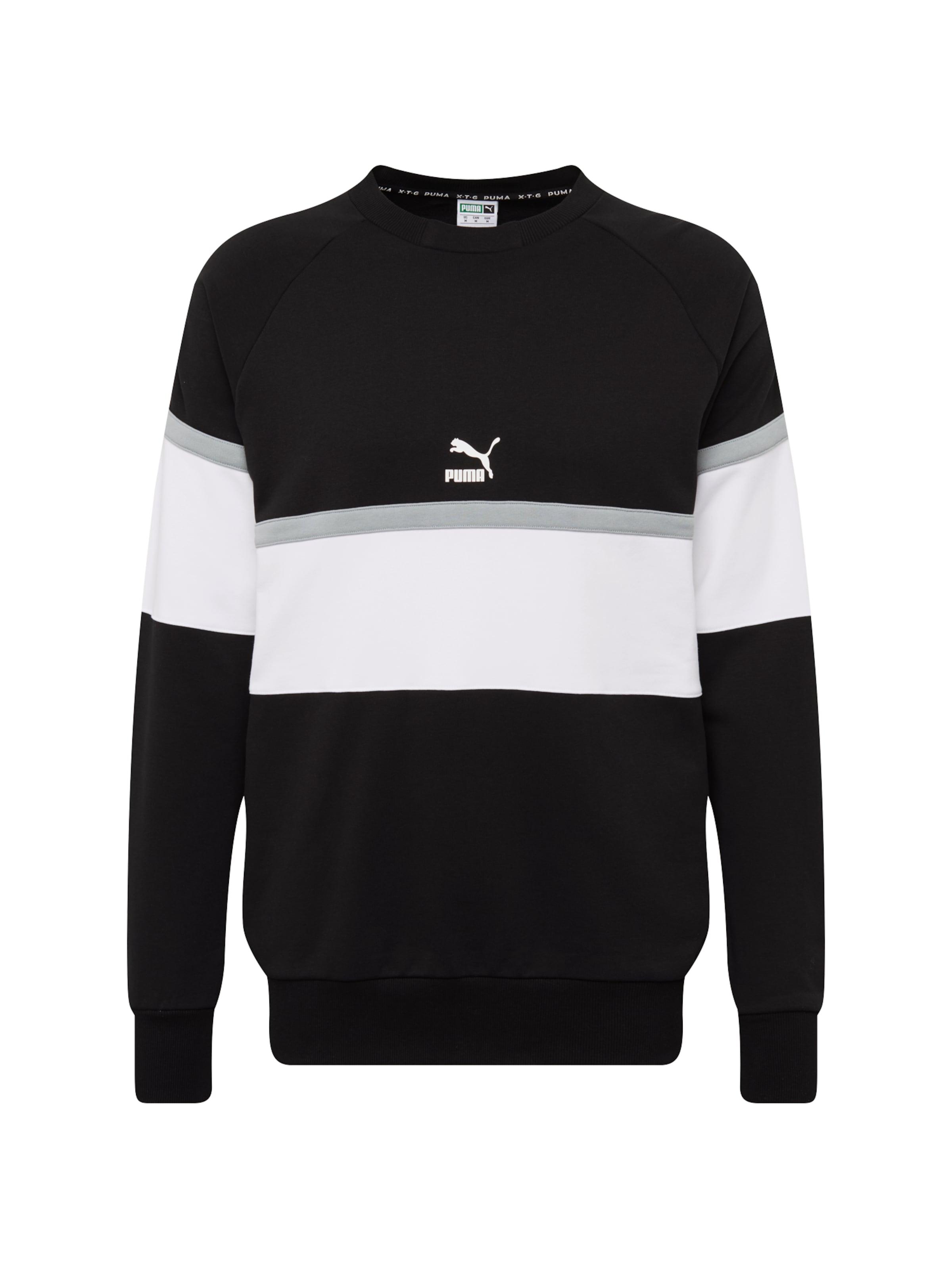 Weiß In Puma Sweatshirt HellgrauSchwarz Puma BeWCxrdo