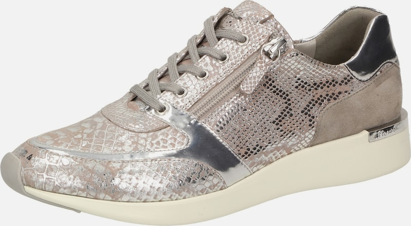 SIOUX Sneaker 'Malosika-701' in beige / taupe / silber, Produktansicht