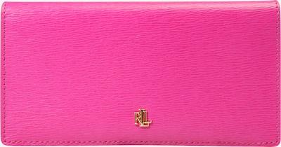 Lauren Ralph Lauren Portemonnee 'SAFFIANO' in de kleur Pink, Productweergave