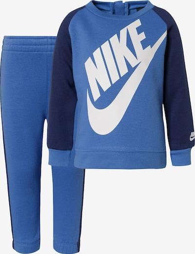 Nike Sportswear Jogginganzug 'Futura Crew' in blau / navy / weiß, Produktansicht