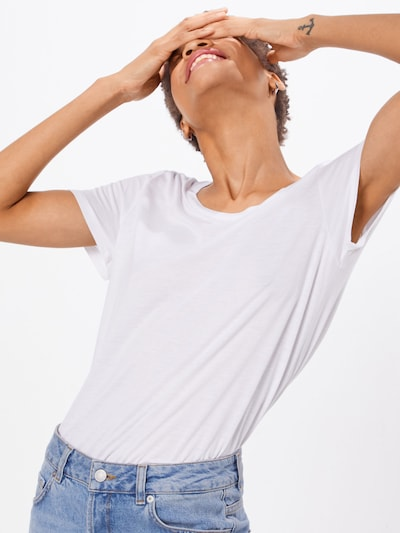 GAP T-shirt en blanc: Vue de face