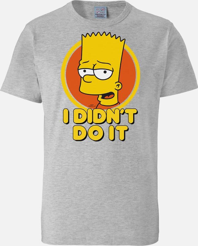 LOGOSHIRT T-Shirt Bart - I Didn`t Do It - The Simpsons