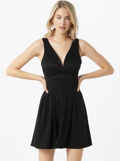 WAL G. Robe de cocktail en noir, Vue avec modèle