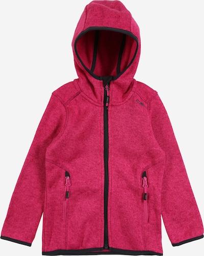 Bluză cu fermoar sport CMP pe gri metalic / roz, Vizualizare produs