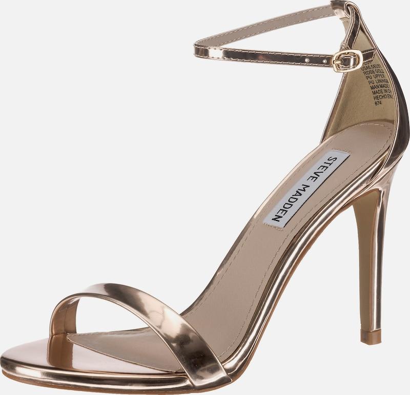 STEVE MADDEN | Stiletto-Sandale in Lackoptik 'Stecy'
