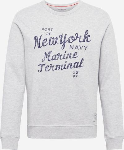SELECTED HOMME Sweatshirt 'BRIXTON' in dunkelblau / graumeliert, Produktansicht