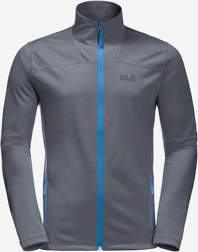 JACK WOLFSKIN Sportovní bunda 'HORIZON' - modrá / šedá, Produkt