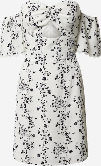 GLAMOROUS Kleid in schwarz / weiß: Frontalansicht
