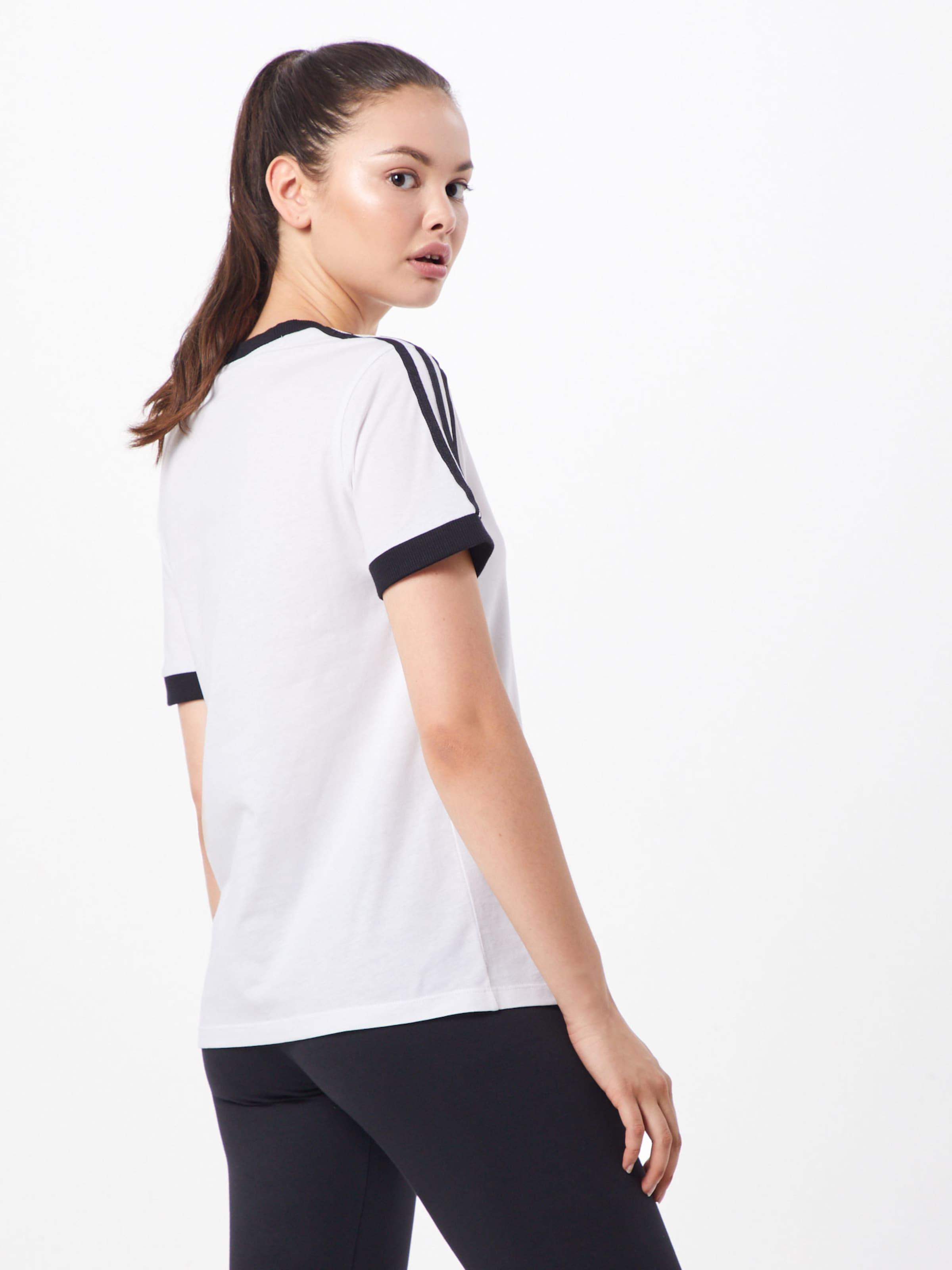 '3 shirt Str SchwarzWeiß Tee' In T Adidas Originals AR4Lq35j