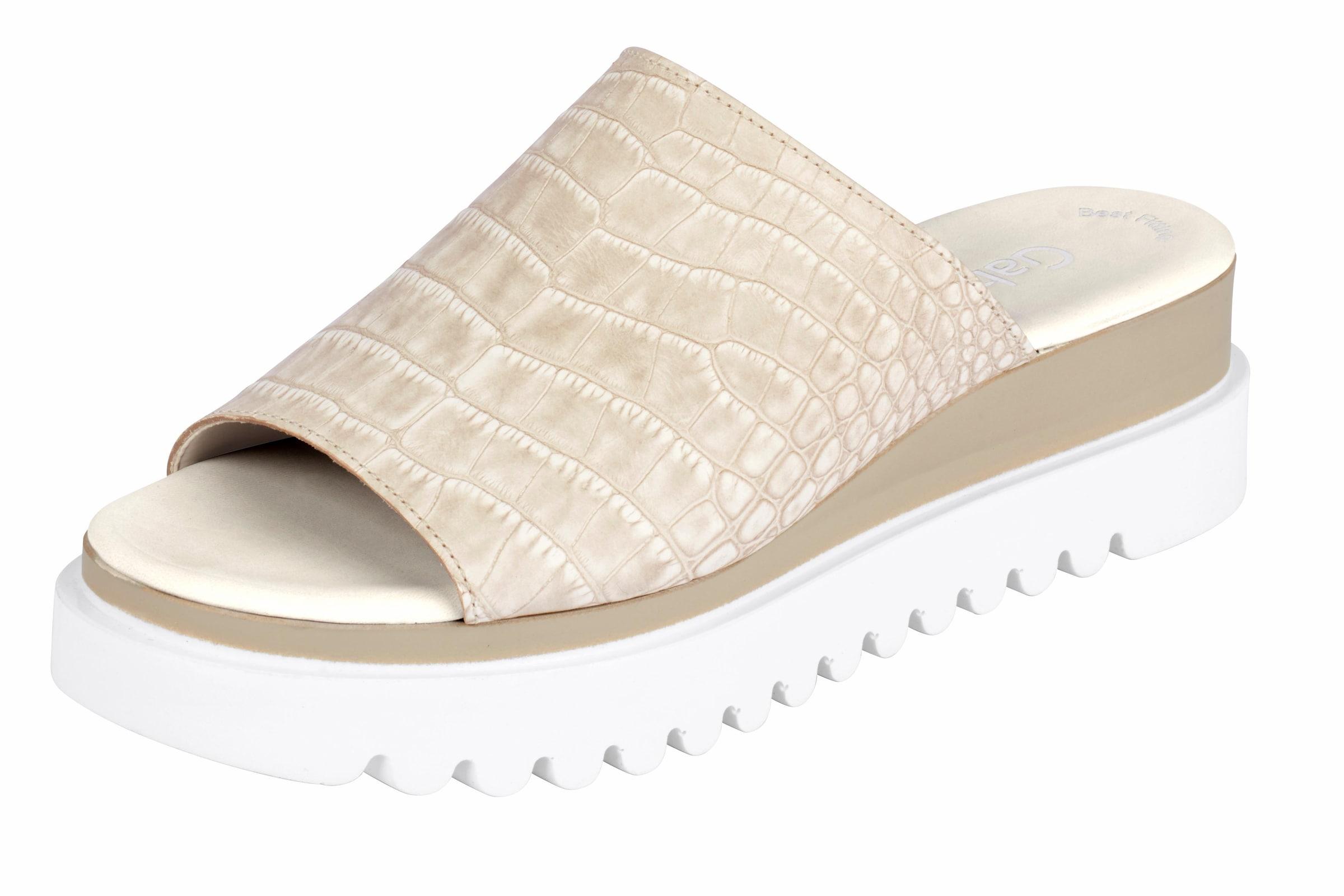 GABOR Pantolette mit Plateau-Sohle Günstige und langlebige Schuhe