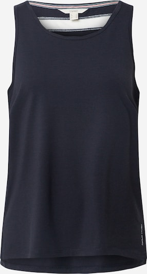 ESPRIT SPORTS Top in dunkelblau / weiß, Produktansicht