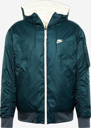 khaki / benzin / fehér Nike Sportswear Átmeneti dzseki 'Windrunner', Termék nézet