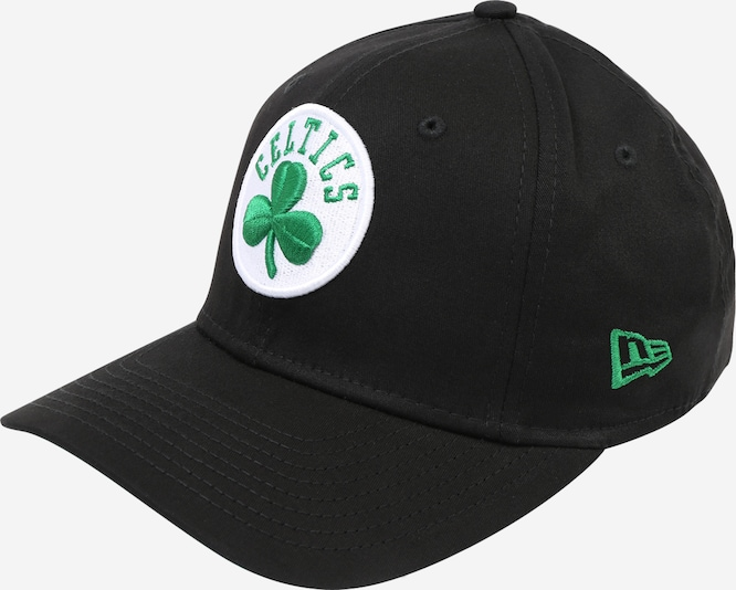 NEW ERA Cap ' New Era Boston Celtics ' in grün / schwarz / weiß, Produktansicht