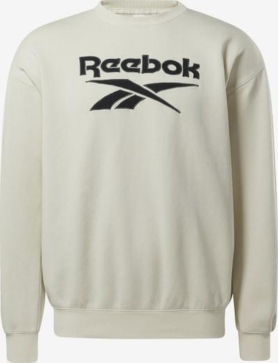 Reebok Classic Sweatshirt in schwarz / naturweiß, Produktansicht