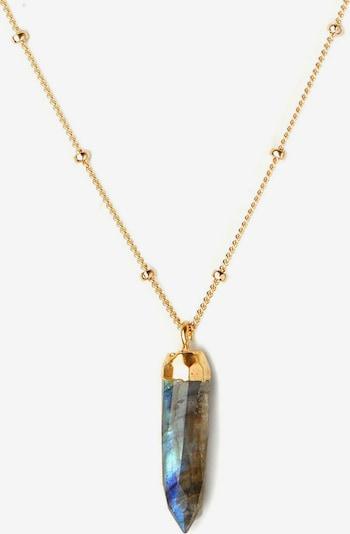 Koshikira Kette 'Grey Point' in gold, Produktansicht