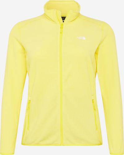 Jachetă  fleece funcțională 'Glacier' THE NORTH FACE pe galben, Vizualizare produs