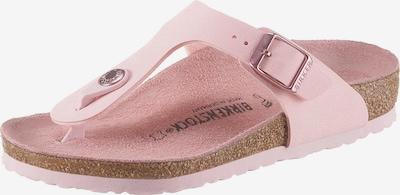 BIRKENSTOCK Open schoenen 'Gizeh' in de kleur Rosé, Productweergave