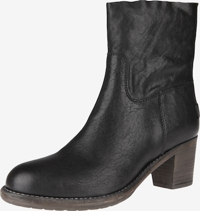 SHABBIES AMSTERDAM Ankle Boot in schwarz: Frontalansicht