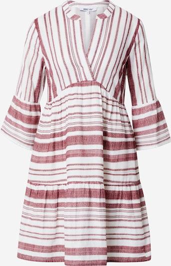 ABOUT YOU Kleid 'Blakely' in bordeaux / weiß, Produktansicht