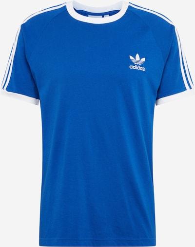 ADIDAS ORIGINALS T-Shirt '3-Stripes' in royalblau / weiß: Frontalansicht