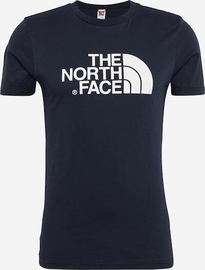Tricou THE NORTH FACE pe albastru noapte / alb, Vizualizare produs