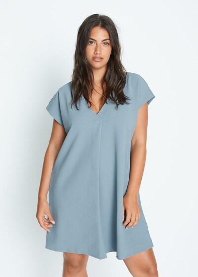 VIOLETA by Mango Kleid in blau, Modelansicht