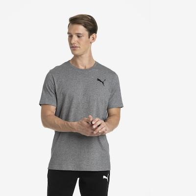 PUMA T-Shirt 'Essentials' in graumeliert: Frontalansicht