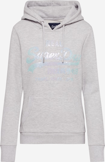 Superdry Sweatshirt 'STITCH SEQUIN' in grau, Produktansicht