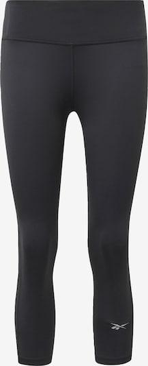 REEBOK Sportbroek in de kleur Zwart: Vooraanzicht