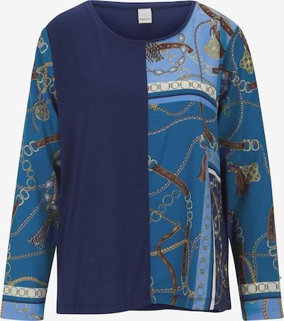 heine Shirt in navy / mischfarben: Frontalansicht