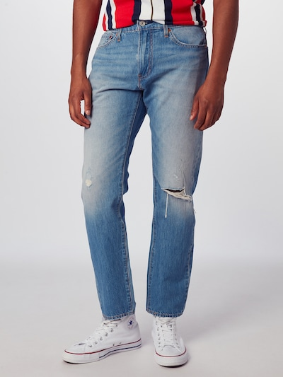 LEVI'S Jeans '510™ SKINNY FIT' in blue denim, Modelansicht