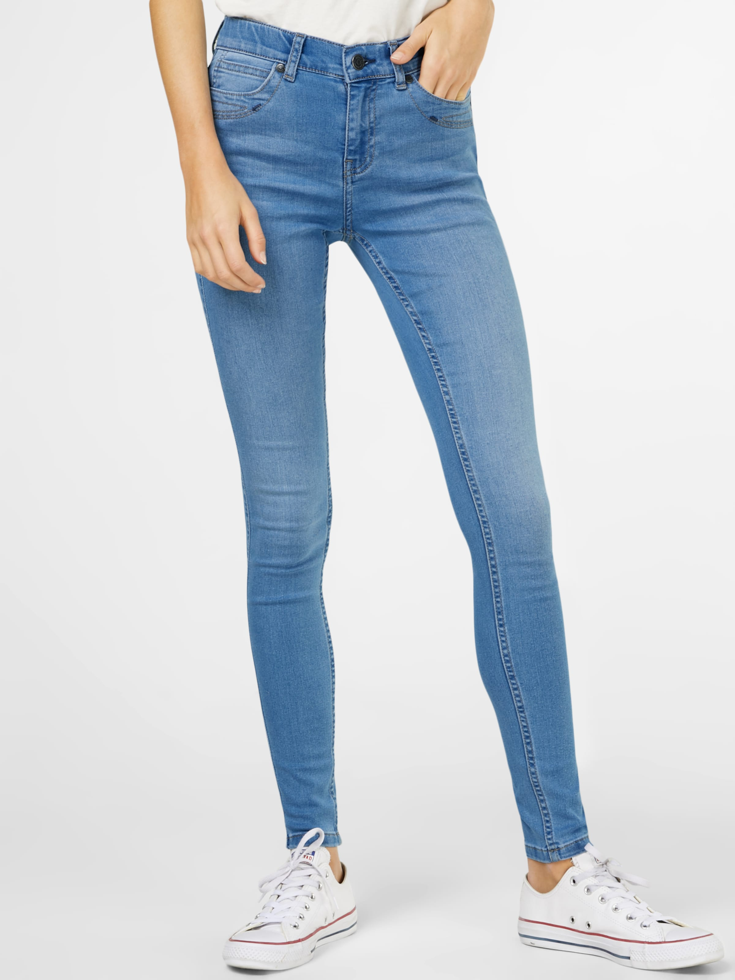 'sophie' Blauw In Jeggings Object Denim KJF1cTl3