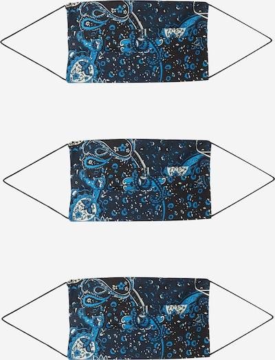ONLY Shawl '3er Pack ONLCOMMUNITY' in Blue / Black, Item view