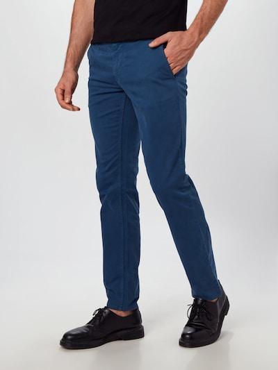 BOSS Chino hlače | modra barva, Prikaz modela