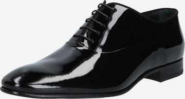 Chaussure à lacets BOSS Casual en noir