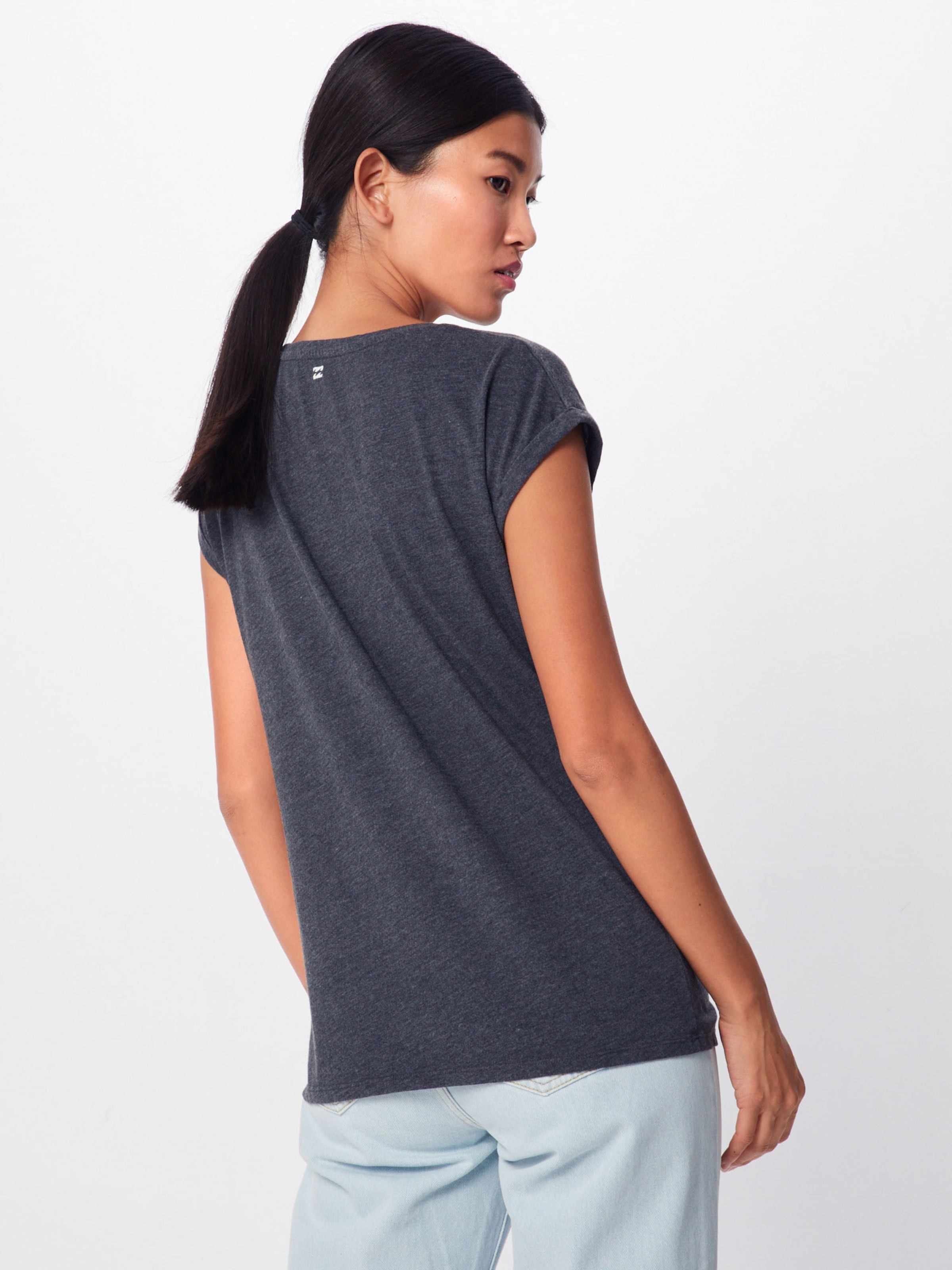 En 'all Foncé shirt Billabong Night' T Gris wPO8n0k