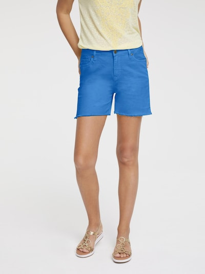 heine Shorts in himmelblau, Modelansicht