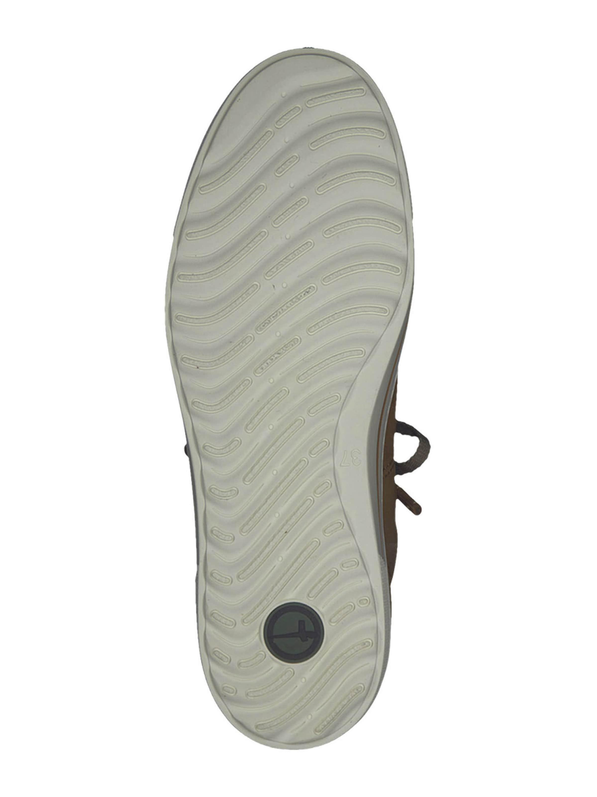 TAMARIS Låg sneaker i brun