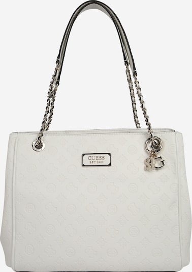 GUESS Tasche 'Love Girlfriend Carryall' in weiß, Produktansicht